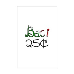 Baci 25 Cents Posters