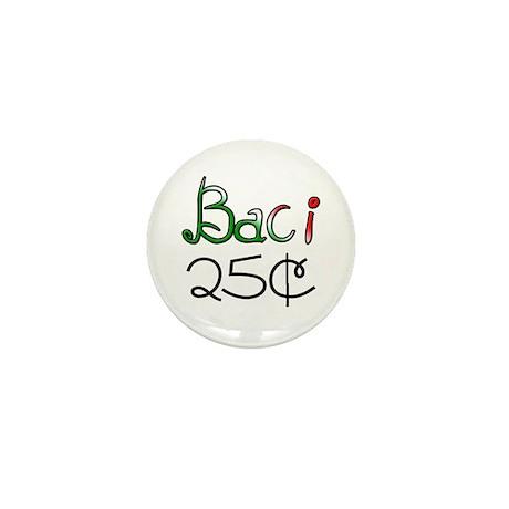 Baci 25 Cents Mini Button (100 pack)