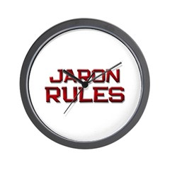 jaron rules Wall Clock