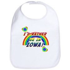 Funny Iowa Bib
