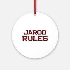 jarod rules Ornament (Round)
