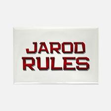 jarod rules Rectangle Magnet
