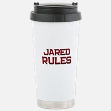 jared rules Travel Mug