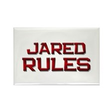 jared rules Rectangle Magnet
