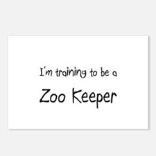I'm training to be a Zoo Keeper Postcards (Package