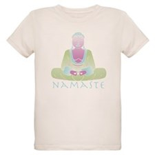 Yoga Buddha 5 Organic Kids T-Shirt