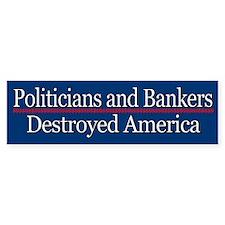 Politicians & Bankers