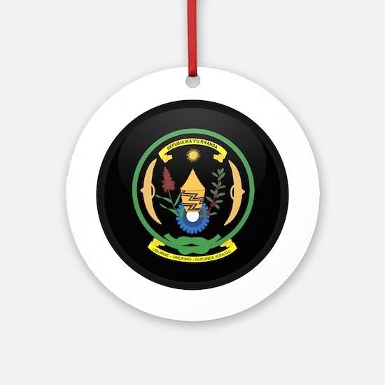 Coat of Arms of Rwanda Ornament (Round)