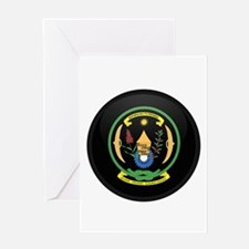 Coat of Arms of Rwanda Greeting Card