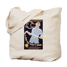 CCC New Deal Poster Tote Bag