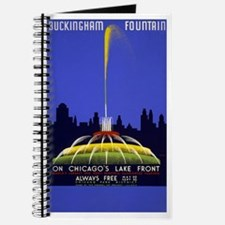 Chicago Grant Park Fountain Journal