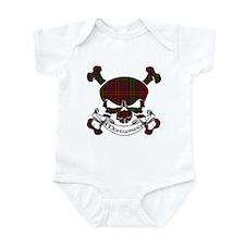 Montgomery Tartan Skull Infant Bodysuit