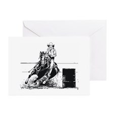 Rodeo Cowgirl Greeting Cards (Pk of 20)