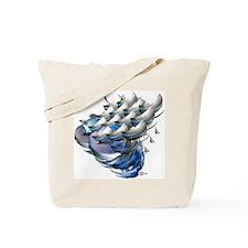 Silver Sail Tote Bag