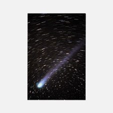 Comet Hyakutake Rectangle Magnet