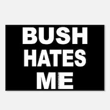 Bush Hates Me Postcards (Package of 8)