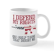 Defending Rights Mug
