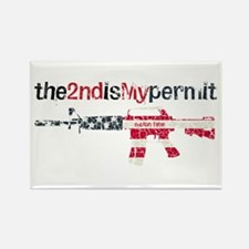 Defending Rights Rectangle Magnet