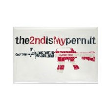Defending Rights Rectangle Magnet (10 pack)