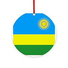 Rwandan Ornament (Round)