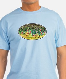 Brown Trout Fly Fishing T-Shirt