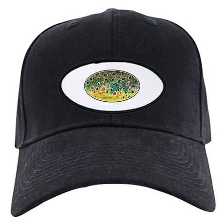 Brown Trout Fly Fishing Black Cap