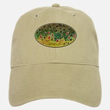 Brown Trout Fly Fishing Baseball Baseball Cap