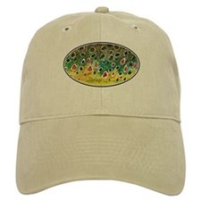 Brown Trout Fly Fishing Baseball Cap