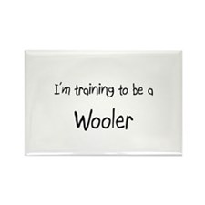 I'm training to be a Wooler Rectangle Magnet