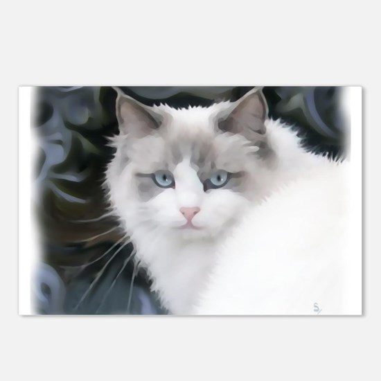 Cute Ragdoll cats Postcards (Package of 8)