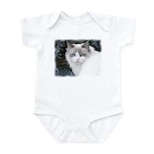 Unique Cats ragdoll Infant Bodysuit