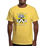 pitbull Yellow T-Shirt