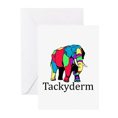Tackyderm Greeting Cards (Pk of 20)