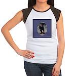 Romping Rottweiler Puppy Women's Cap Sleeve T-Shir