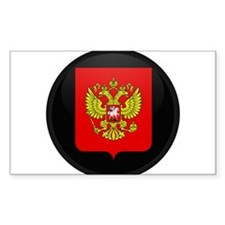 Coat of Arms of Russia Rectangle Decal