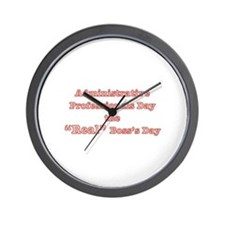 Admin. Professionals Day Wall Clock