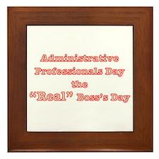 Admin. Professionals Day Framed Tile