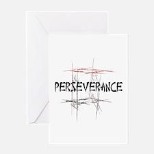 Martial Arts Perseverance Tenet Card