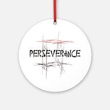 Martial Arts Perseverance Ornament (Round)