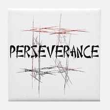 Martial Arts Perseverance Tile Coaster