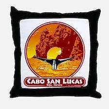 Cabo San Lucas Sunset Throw Pillow