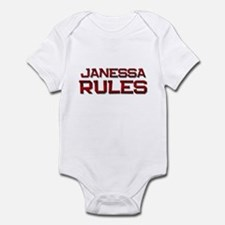 janessa rules Infant Bodysuit