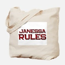 janessa rules Tote Bag