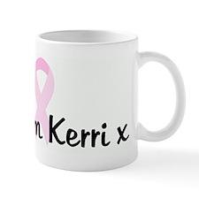 x Team Kerri x pink ribbon Mug