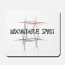 Martial Arts Indomitable Spirit Mousepad