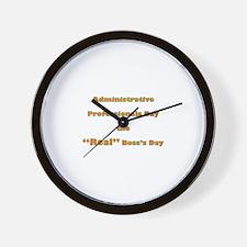 Admin. Professionals Day Wall Clock