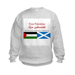 Scotlland Supports Palestine Sweatshirt