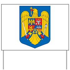 Romania Coat of Arms Yard Sign