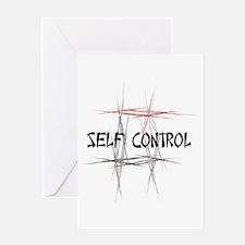 Martial Arts Self Control Greeting Card