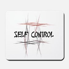 Martial Arts Self Control Mousepad
